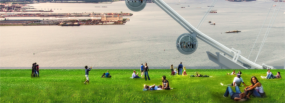 Wheel Project Staten Island The Staten Island Ferris Wheel