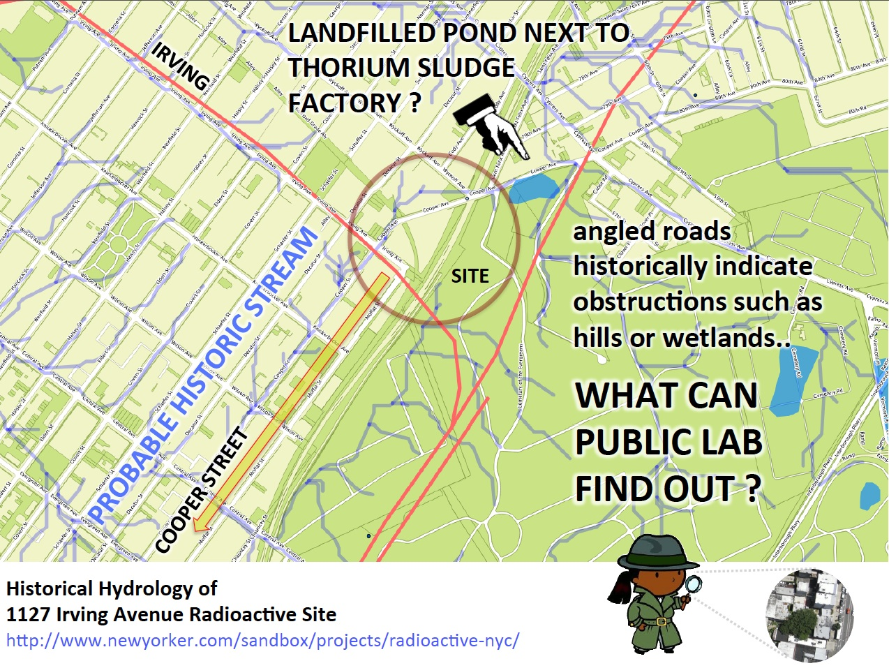 Superfund Map Public Lab The Most Radioactive Place In New York City