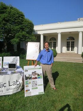 6_2014_6_18_White_House_Maker_Faire_Eymund_with_Public_Lab_and_Marylander_Park_Plan_outside_White_House_Oval_Office_aaaIMG_0210.JPG