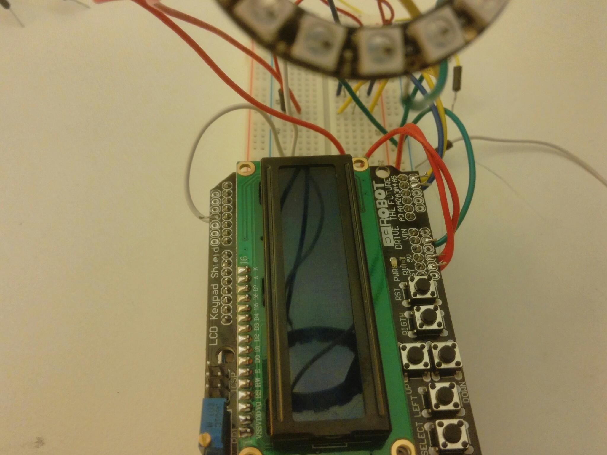 🎈 Public Lab: Thermal Flashlight with LCD keypad display