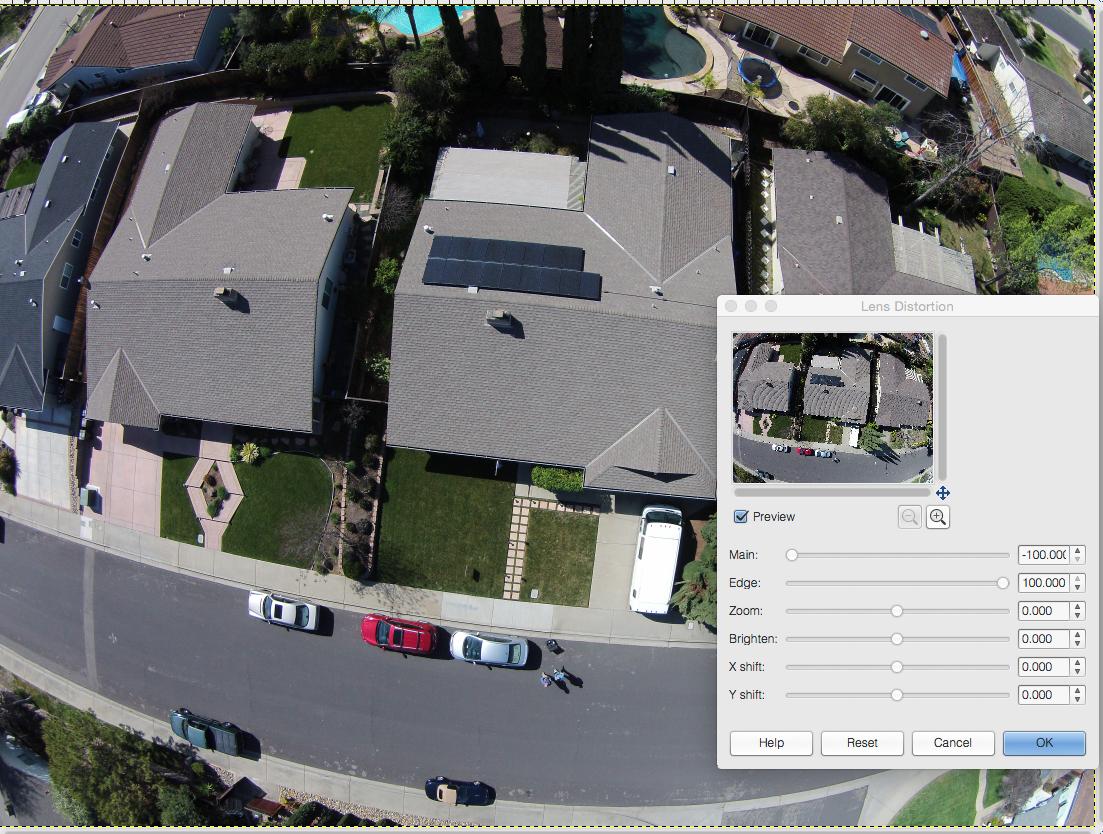 🎈 Public Lab: DJI UAV mapping with Gimp correction of