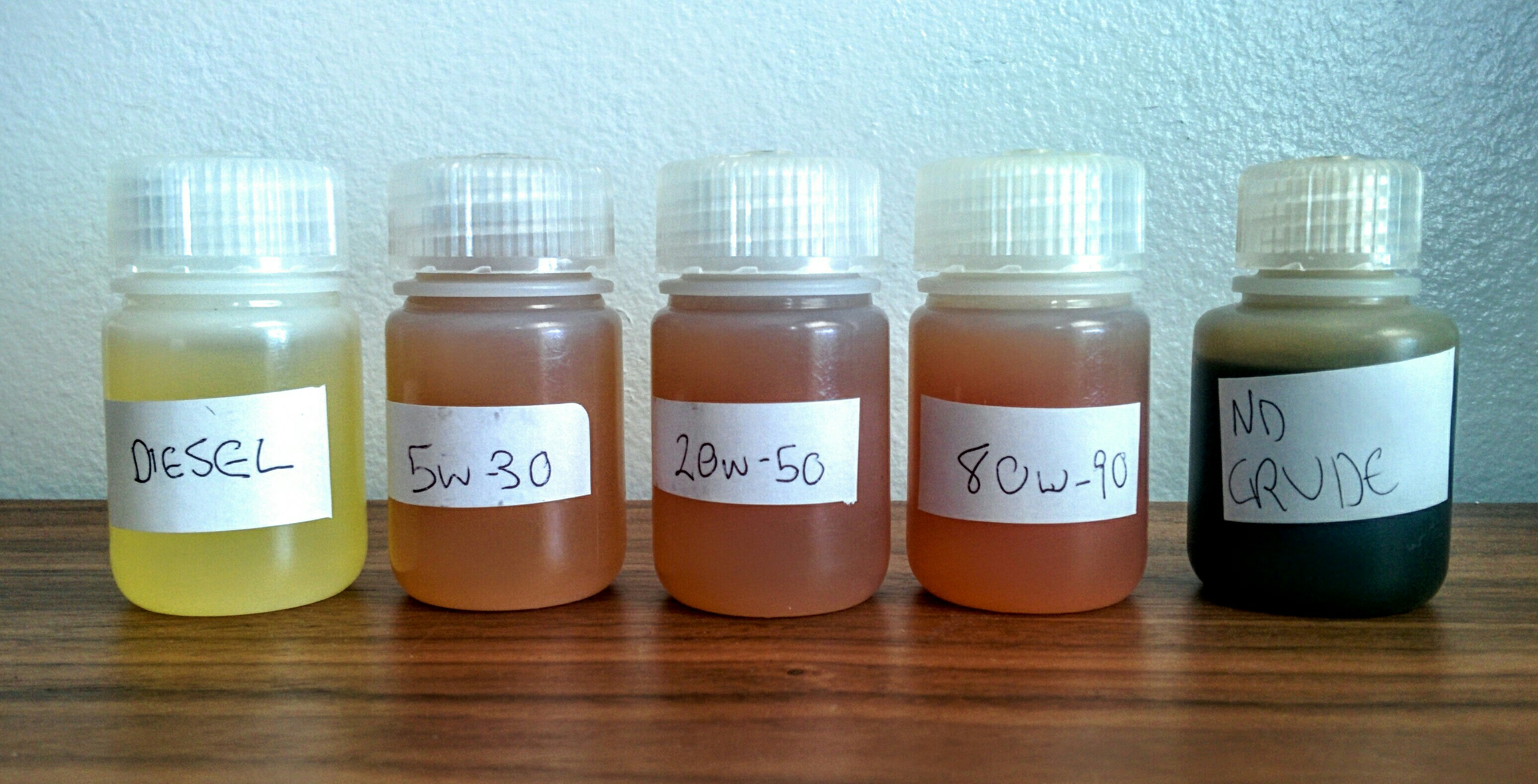 Public Lab: Testing The Oil Testing Kit: Identifying A