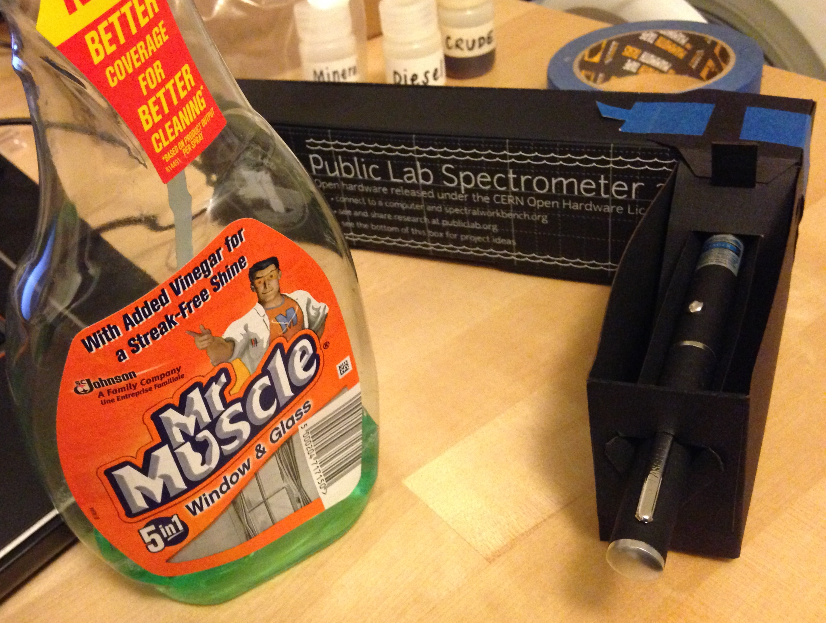 Using Mr Muscle Oven Cleaner To Remove Gloss Paint
