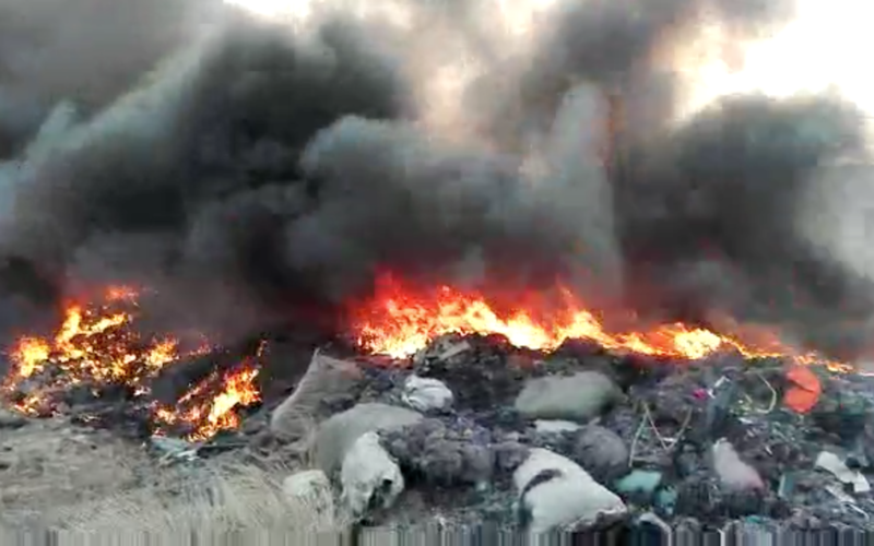 Public Lab The Open Burning Of Textile Waste