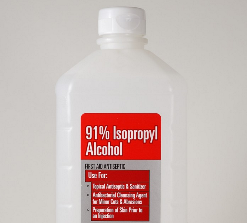 Using Isopropyl Alcohol To Stop Ring Worm