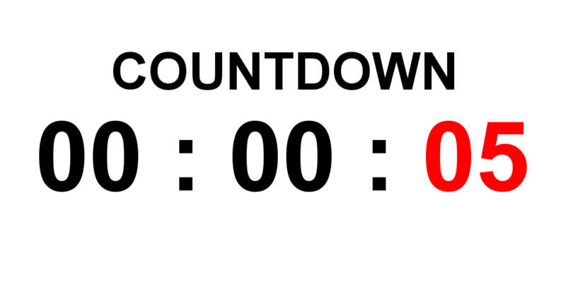 Countdown timer online date