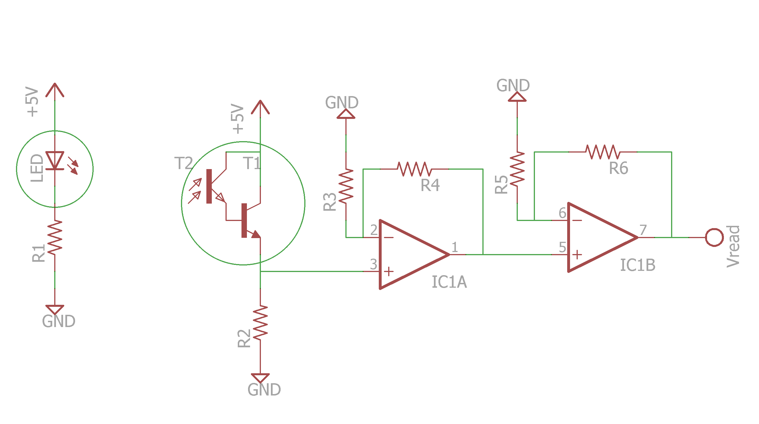 Public Lab Turbidity Sensor Circuit Ldr For Solutions Containing Zero To One Hundred Ntu I Found That A Two Stage Amplifier Worked Best Im Still Playing With The