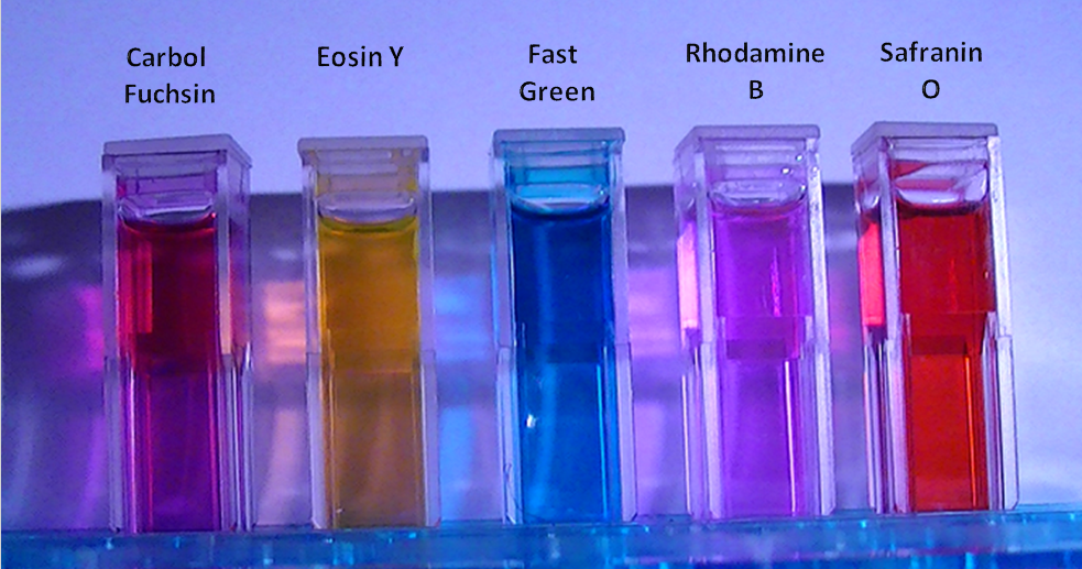 public lab  effects of solvents on fluorescence of biological dyes