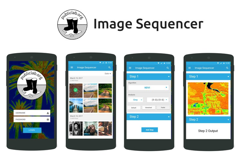 Public lab android app for image sequencer Iplan app