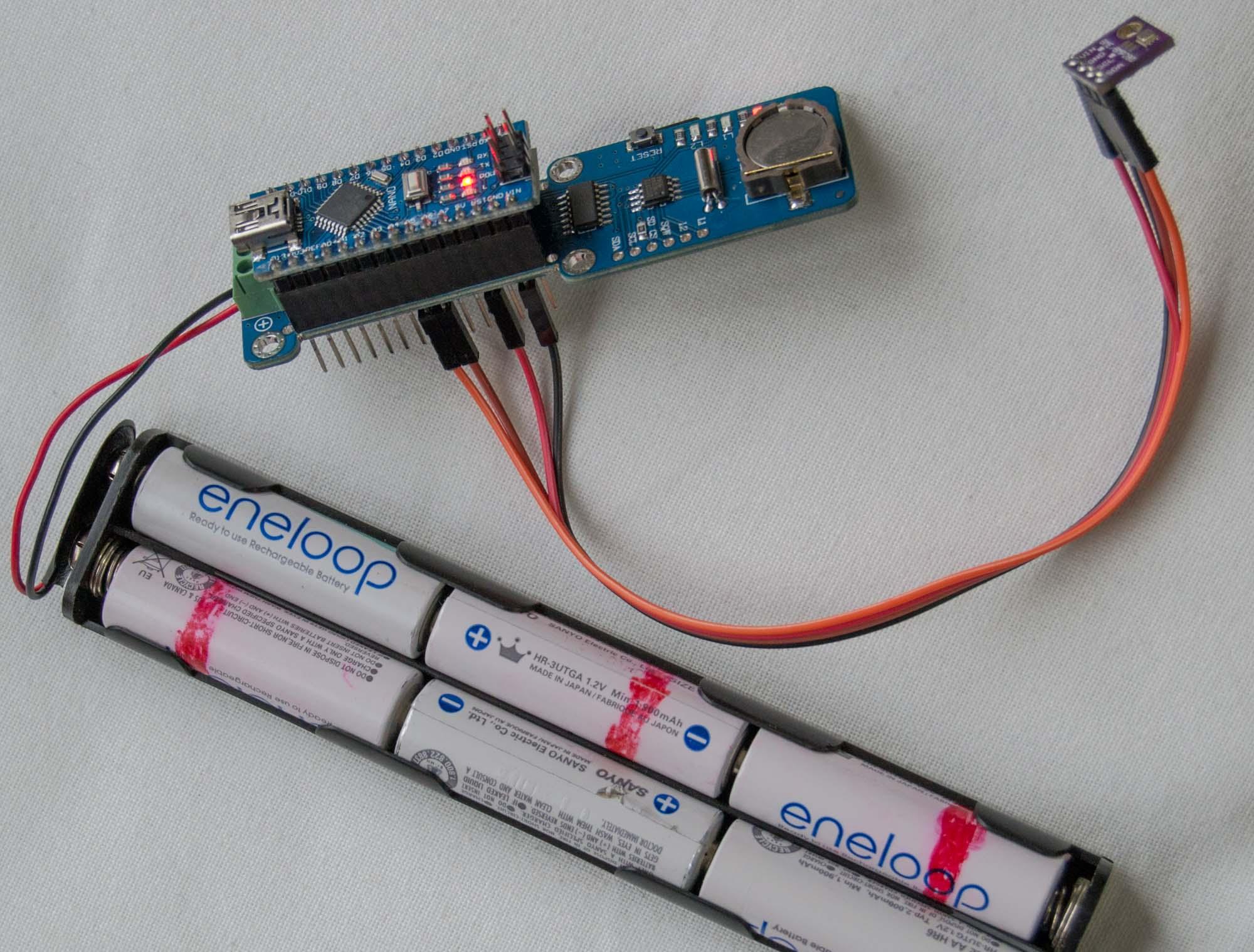 🎈 Public Lab: Data logger shield for Nano