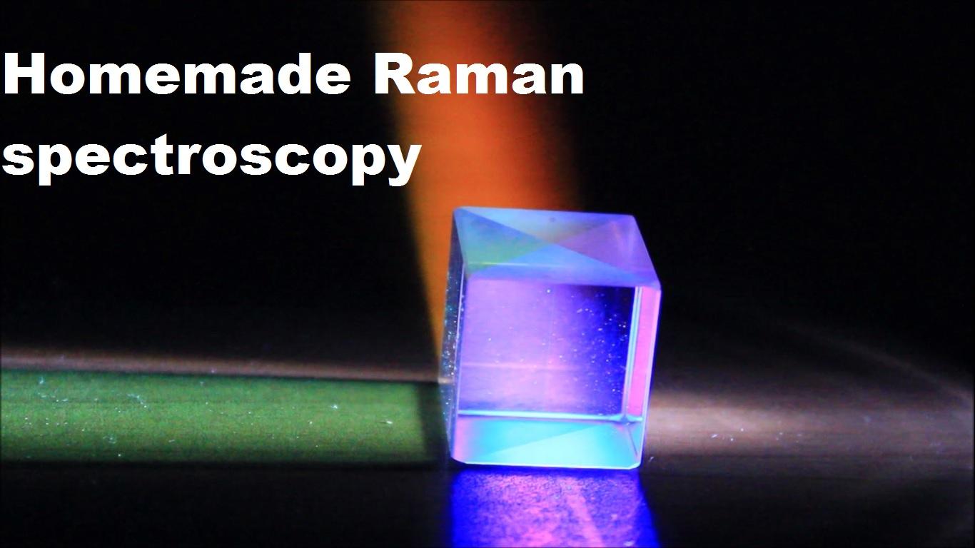 Public Lab: Homemade Raman spectrometer