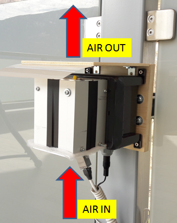 low cost sensor for air quality monitoring