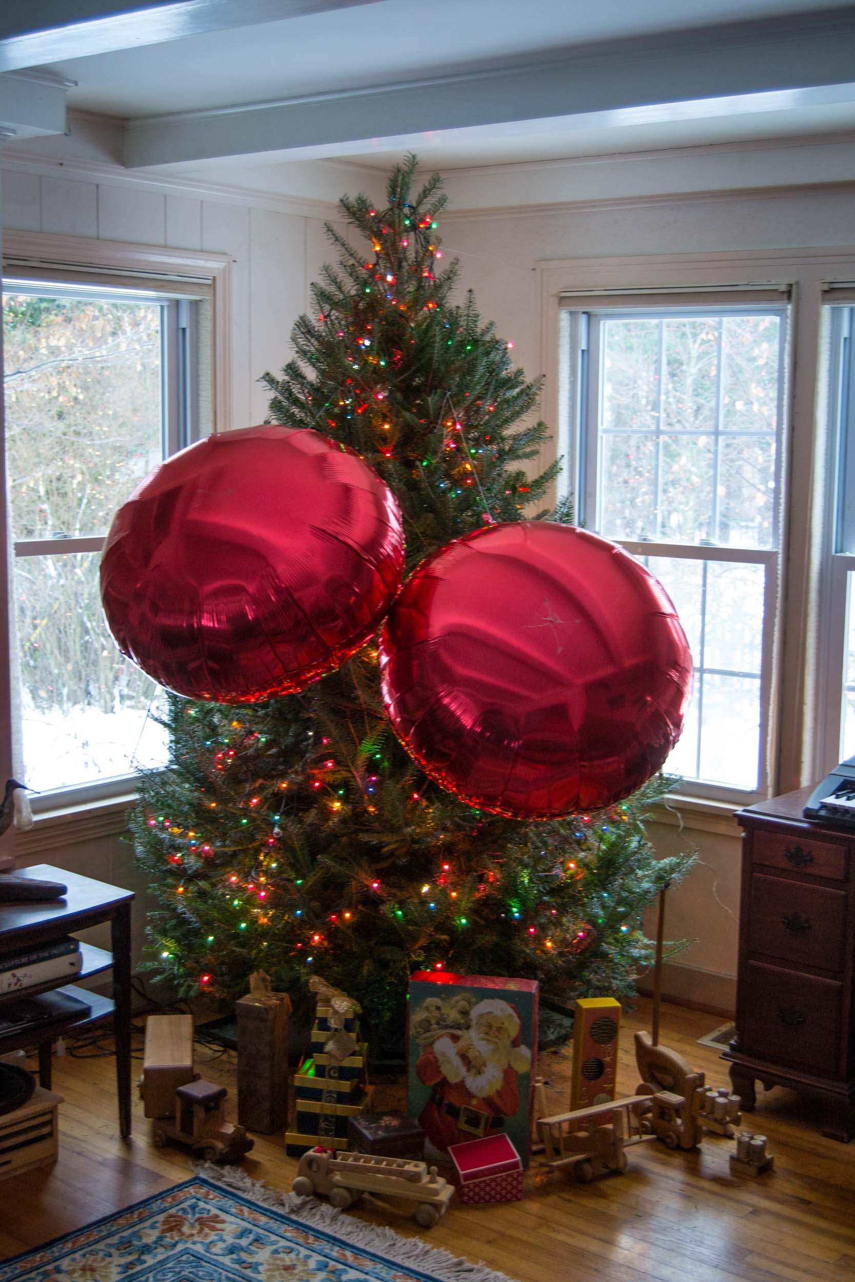 Public Lab: Public Lab's Big Red Christmas Balls