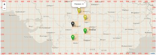 🎈 Public Lab: Introducing Leaflet Blurred Location Display
