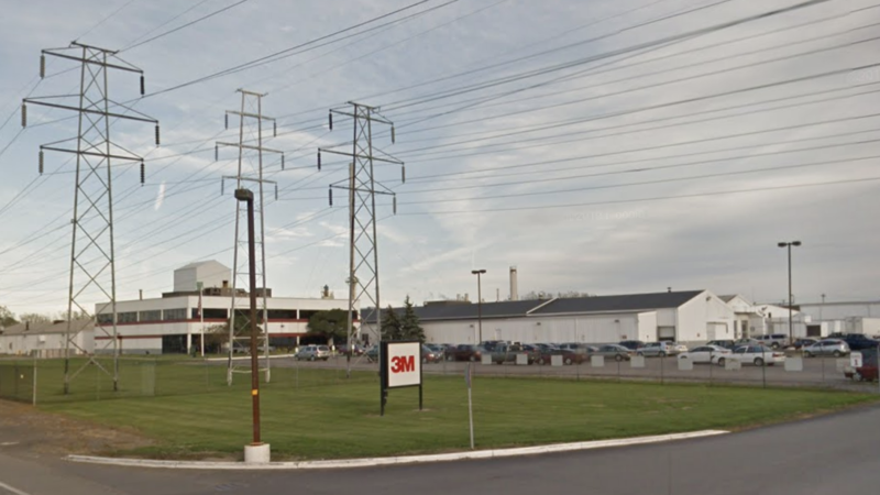 3M Factory, as seen in Google Maps