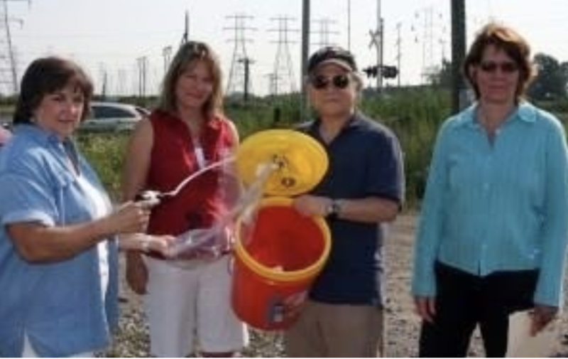 The Tonawanda Bucket Brigade, 2004 Image courtesy of Citizen Science Community Resources