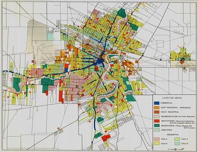 Winnipeg land use historical map
