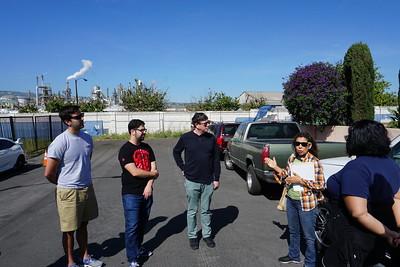 toxic tour Wilmington CA
