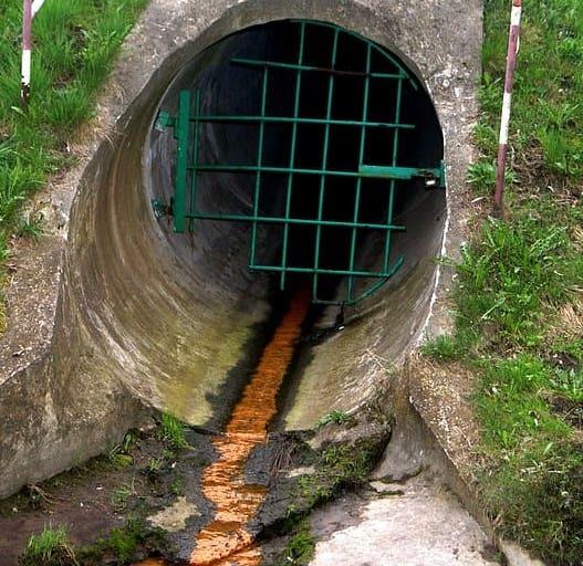 sewage channel