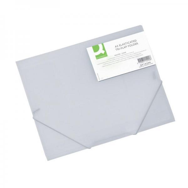 Cartelle con elastico in materiale plastico