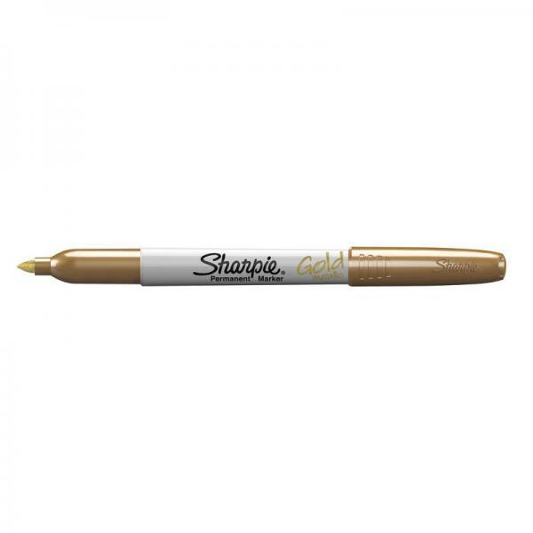 Marcatore permanente Sharpie Metallic F punta conica 3 mm oro 1891062