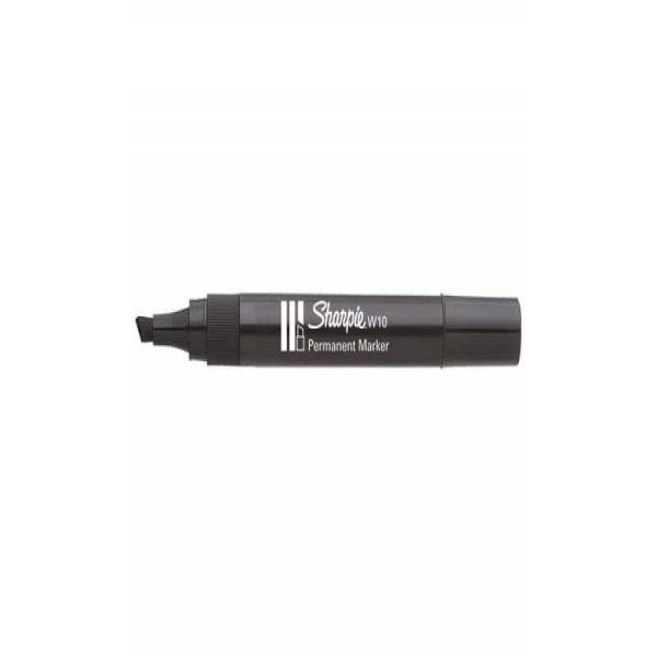 Marcatore permanente Sharpie W10 punta a scalpello 5 mm Nero S0192654