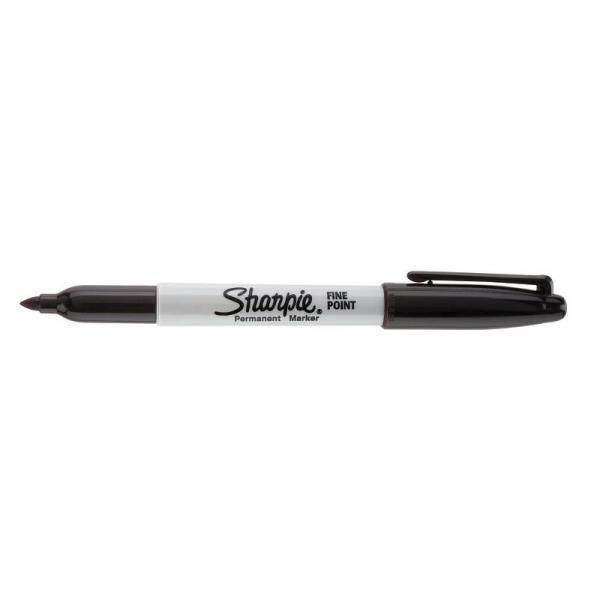 Marcatore permanente Sharpie Fine punta conica 1 mm nero S0810930