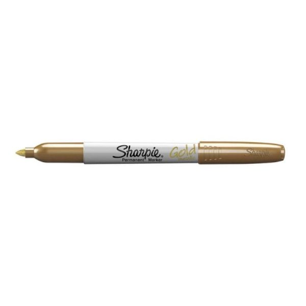 Marcatore permanente Sharpie Metallic F punta conica 3 mm oro 1891062
