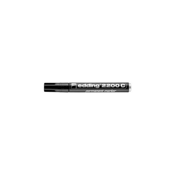 Marcatore permanente edding 2200 C punta scalpello 1-5 mm nero 4-2200C001