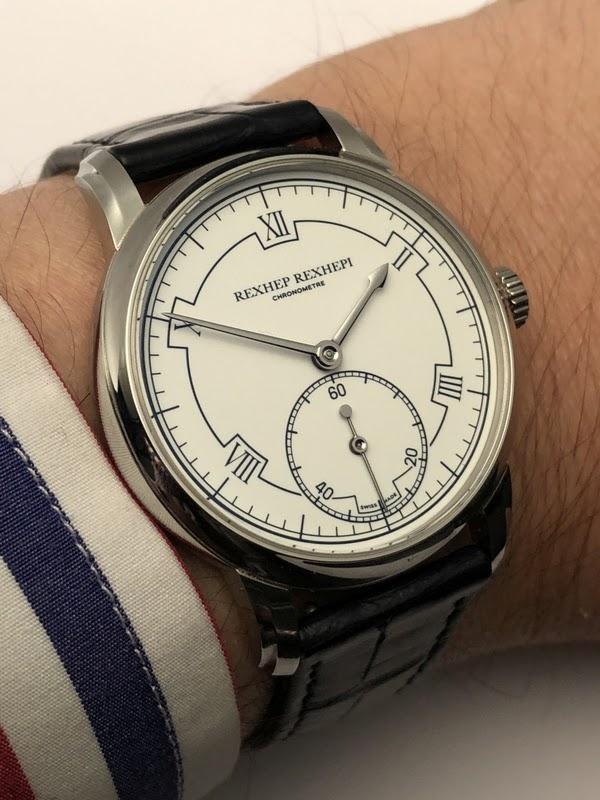1c5ae7321f9b Hands on review of the Rexhep Rexhepi Chronomètre Contemporain