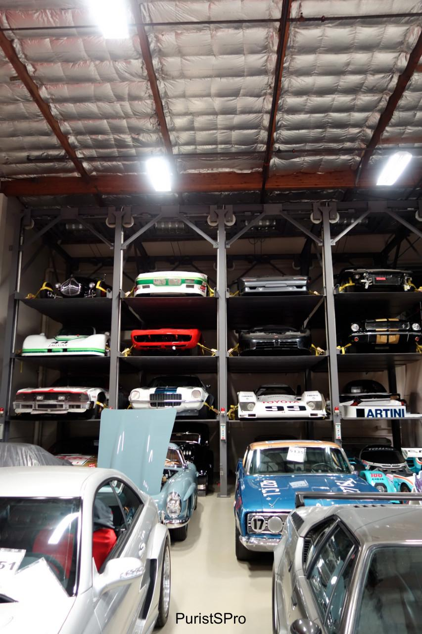 A wall of cars...