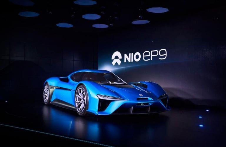 Automotive Nio Chinese Electric Car Company Stock Ipo On New York Exchange