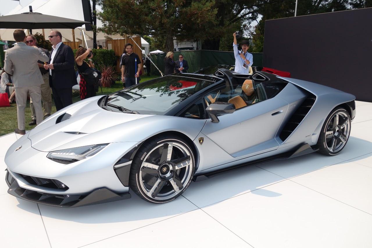 Automotive Pebble Beach 2016 Lamborghini Centenario At Quail