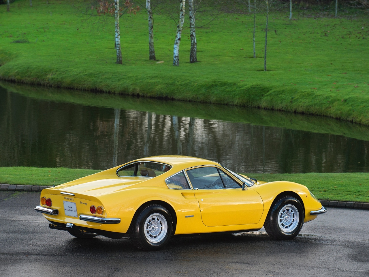 Automotive Some Ferrari Dino 246 Gt Superb Photos
