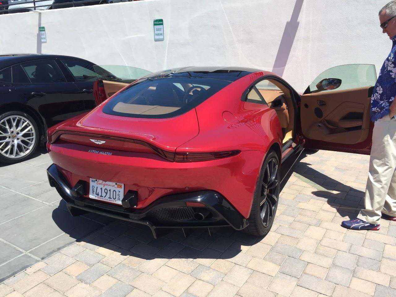 Automotive Another Aston Martin Vantage Impression Drive