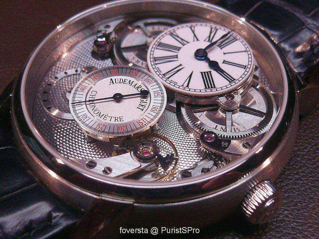 Jules Audemars Chronomètre  vs Tradition Basel_image.989721