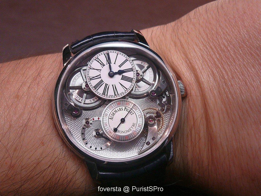 Jules Audemars Chronomètre  vs Tradition Basel_image.989731