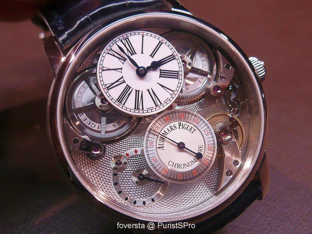Jules Audemars Chronomètre  vs Tradition Basel_image.989706