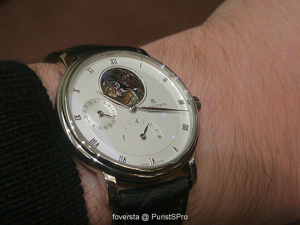 Et si... vous achetiez une vraie dress watch : quelle marque / modèle ? Blancpain_image.1010961