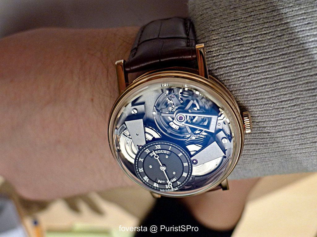 Breguet Tradition 7067 Tradition Gmt Ref 7067