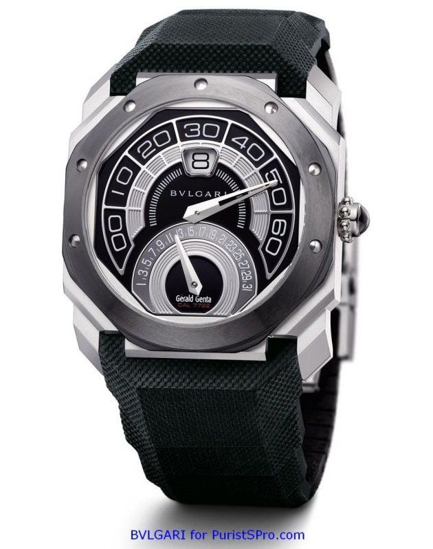 Bulgari Collection Gerald Genta Octo Bi-Retro Steel Ceramic