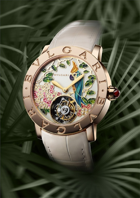 Bulgari - Baselworld 2013 - Bulgari's First Grand Complication Ladies' Watch