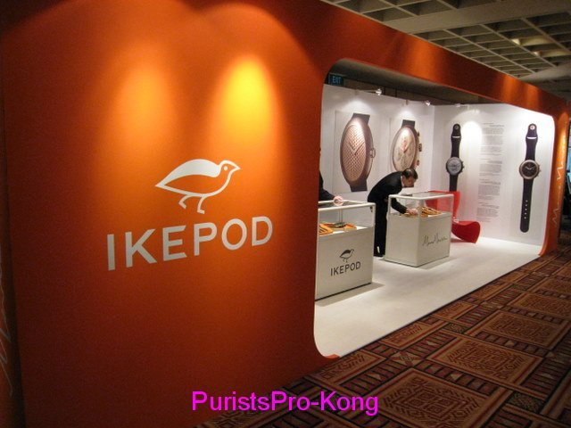 Striking Booth - you cannot miss it!
