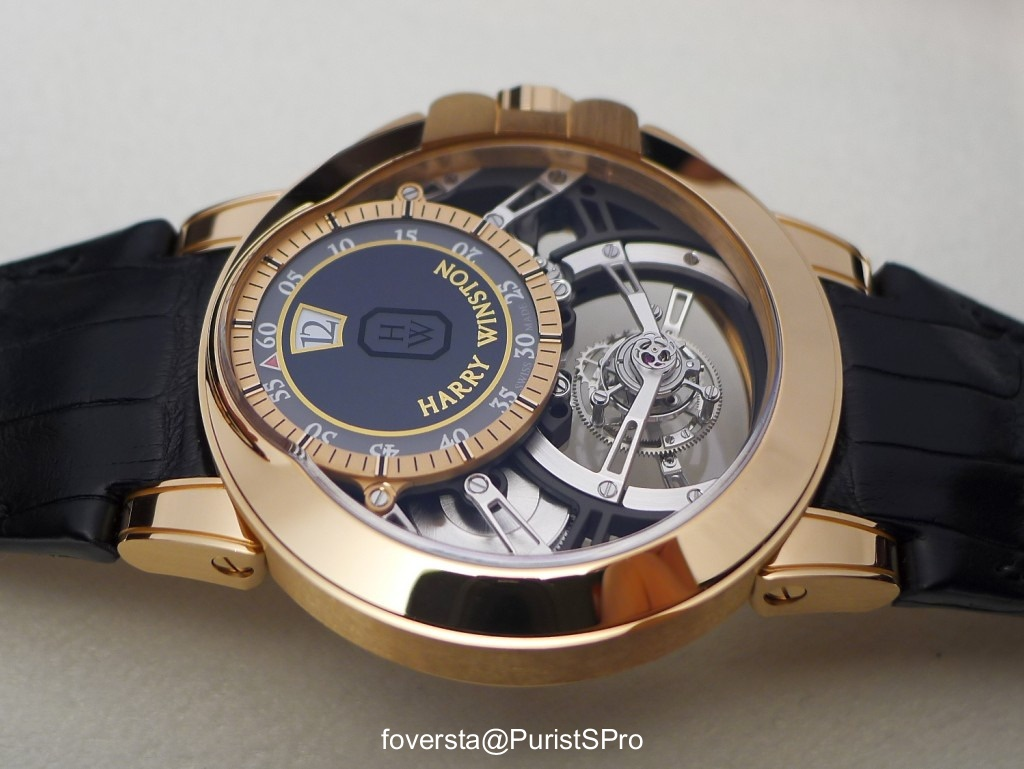 My view on the Harry Winston Ocean Tourbillon Jumping Hour