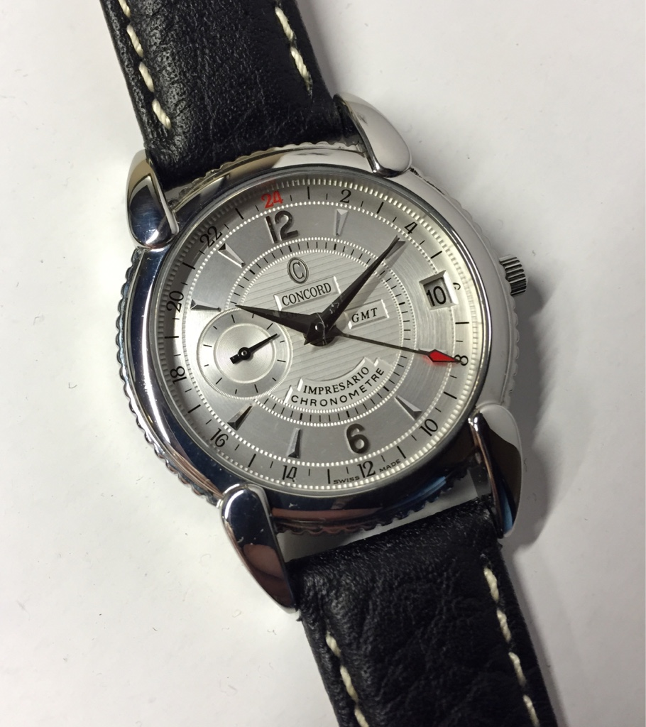 Horological Meandering - Respectfully Submitted: The Concord