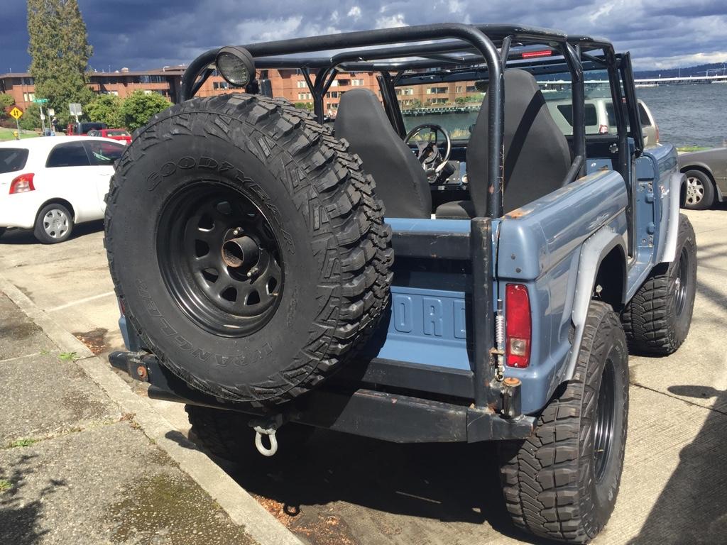 Automotive - Seen in the Street: Bucking Bronco
