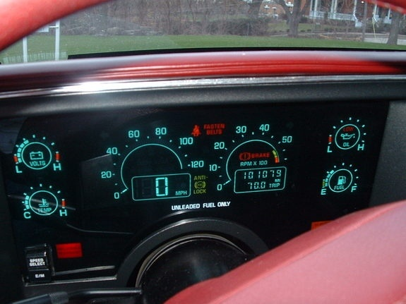 C4 Corvette Gauges British Automotive