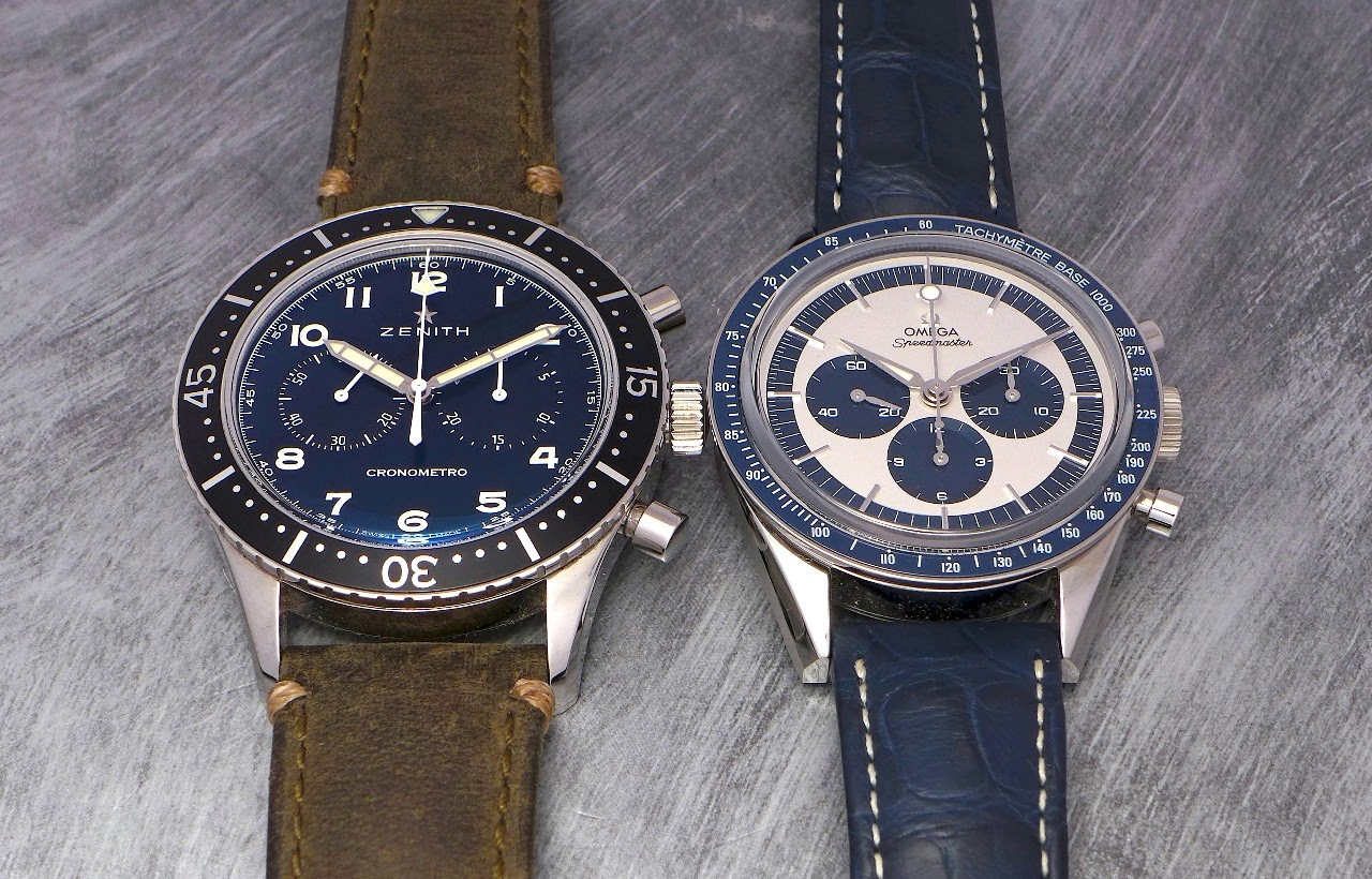 720730843de1 Horological Meandering - Two of the coolest chronographs of the ...