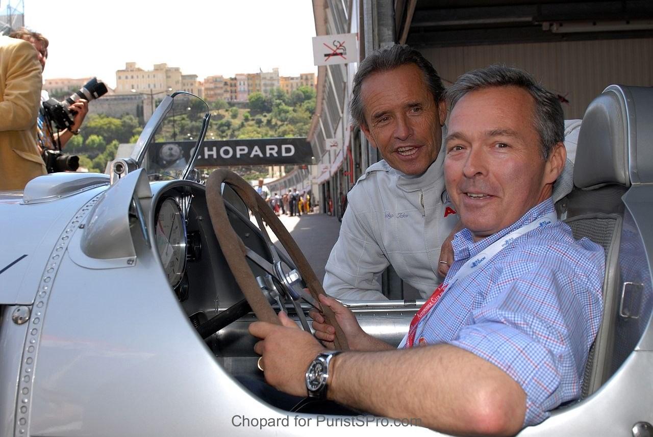 Jacky Ickx and Karl-Friedrich Scheufele at Monaco