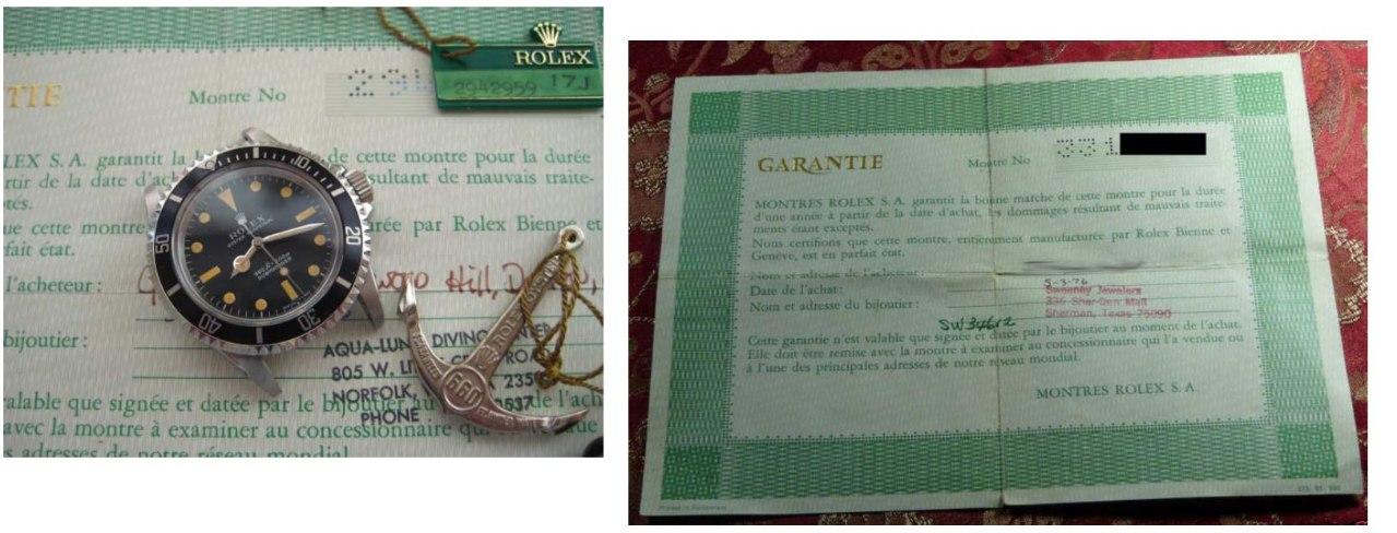 Garanite Certificate (~2,62x,xxx ? ~4,xxx,xxx) 4x5 and 4x6